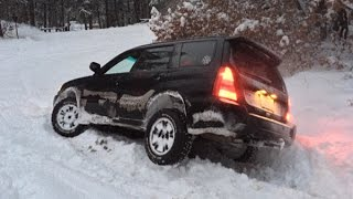 Subaru Forester Off Road - Snow Hooning January 2015