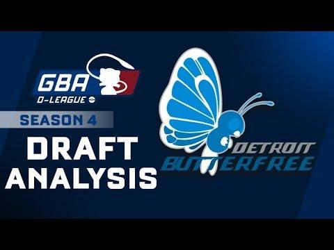 Detroit Butterfrees GBA D-League S4 Draft Analysis