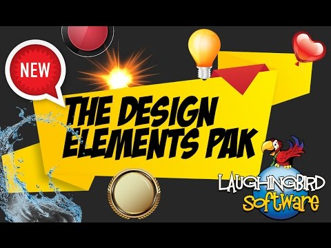 Laughingbird Softwares Design elements