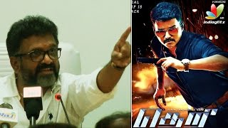 A private Tamil TV channel recorded Vijay Theri film in theater - Producer Siva, Kalaipuli S. Thanu