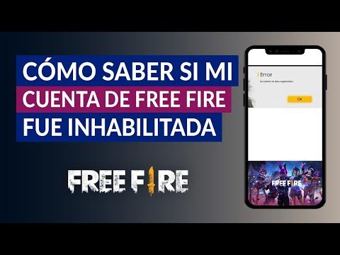 Cómo Saber si mi Cuenta de Free Fire fue Inhabilitada, Suspendida o Baneada
