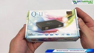 Відео огляд Q-SAT Q-11 HD