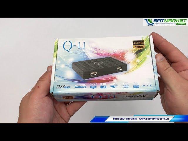 Видео обзор Q-SAT Q-11 HD