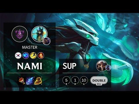 Nami Support vs Sett - KR Master Patch 10.11
