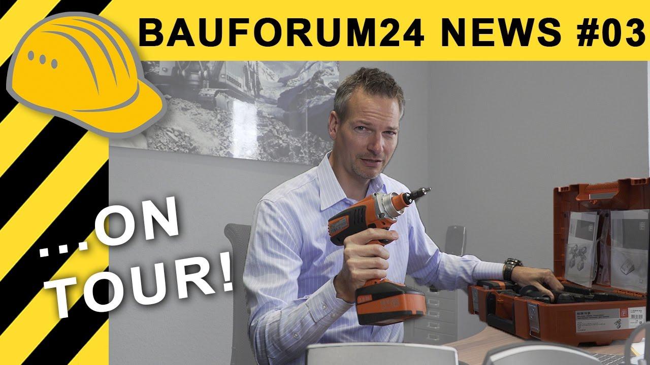 bauforum24 news 03 on tour fein 18v akkuschrauber. Black Bedroom Furniture Sets. Home Design Ideas