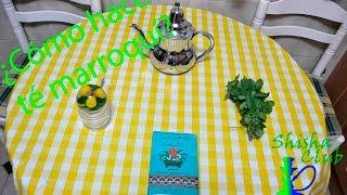 ¿Cómo hacer té marroquí?