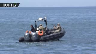 В Крыму проходят масштабные учения спецназа ФСБ