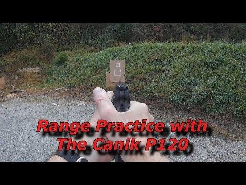 Range Practice With the Canik P120
