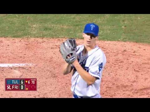 Tulsa's Buehler notches seventh strikeout