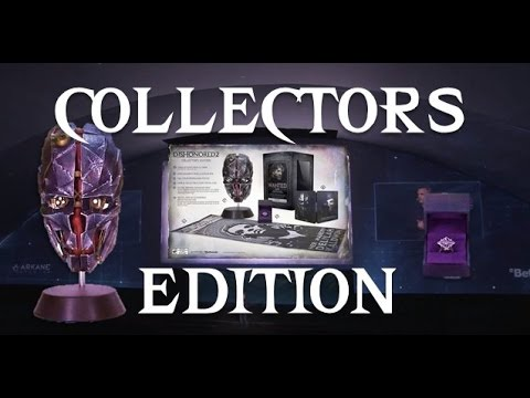 DISHONORED 2 - COLLECTORS EDITION REVEAL