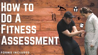 How to Do a Fitness Assessment | Personal Training Assessment | Forms Included!