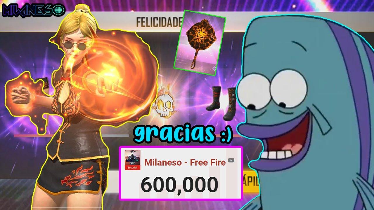 COMPRANDO TODO EL EVENTO CRANEO EN LLAMAS EN FREE FIRE - NUEVA AGENDA SEMANAL - MILANESO