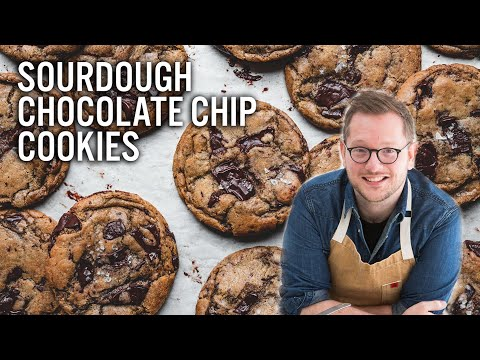 Sourdough Chocolate Chip Cookies - The Boy Who Bakes