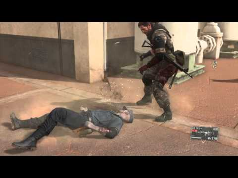 Trying to beat Skulls with CQC - Metal Gear Solid V: The Phantom Pain
