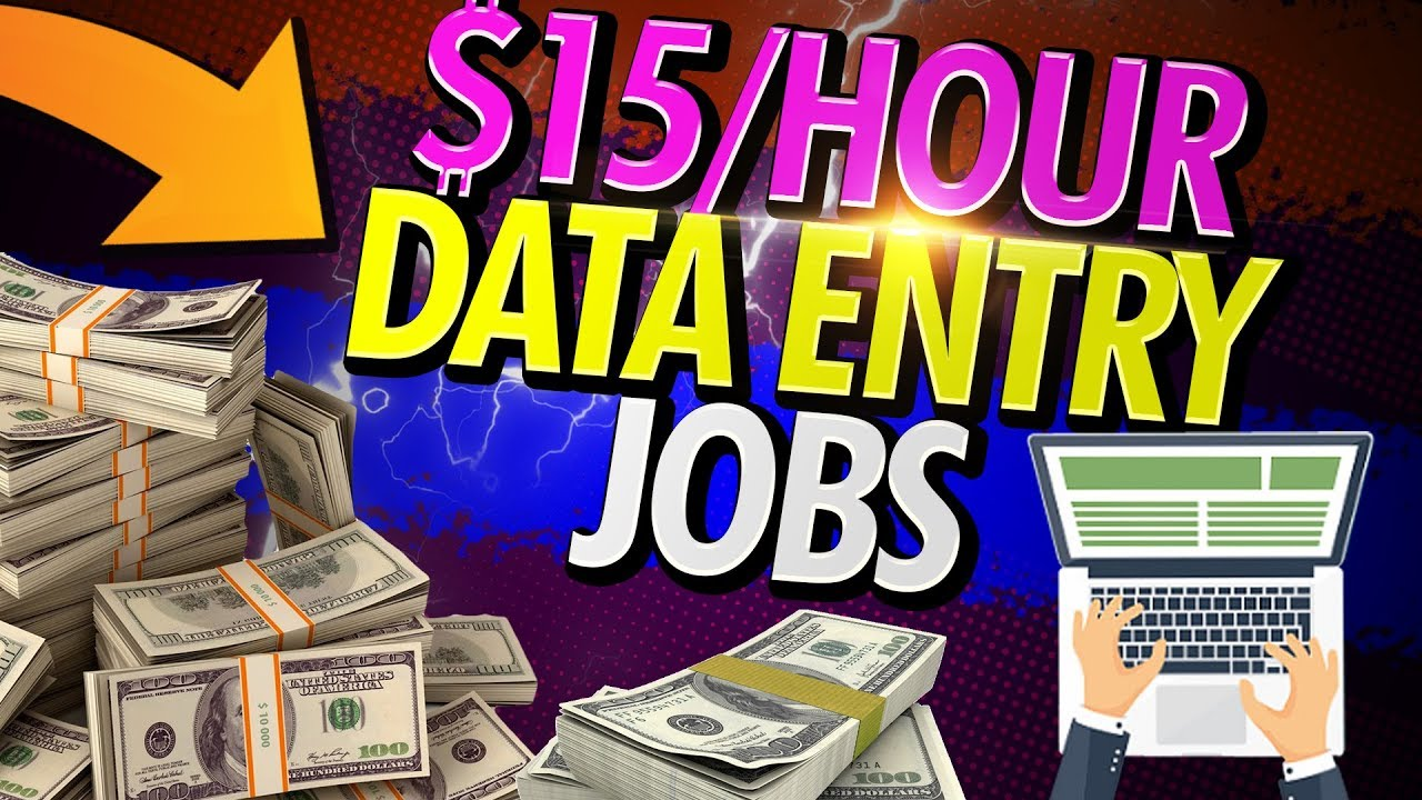 Photo of $15 PER HOUR 🔥 Data Entry Jobs From Home PART TIME in 2020 – وظائف