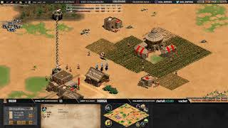 AGE OF EMPIRES 2 ! EXPERT PLAYERS ! DOGAO vs TINYPAYS - MAP ARABIA