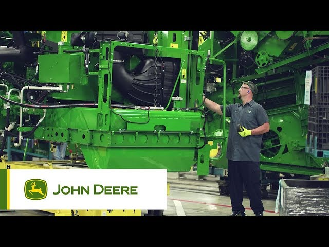 John Deere's S-Series production facility in the US