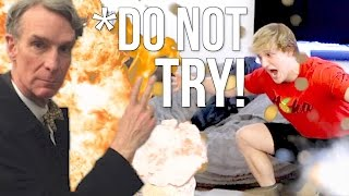 CRAZY SCIENCE EXPERIMENT GONE WRONG!