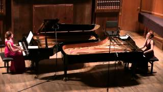 Mozart Sonata in D Major, KV448 - The Gromoglasovas duo