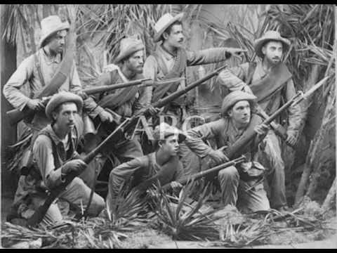 Soldados españoles de la Guerra de Cuba (1898)