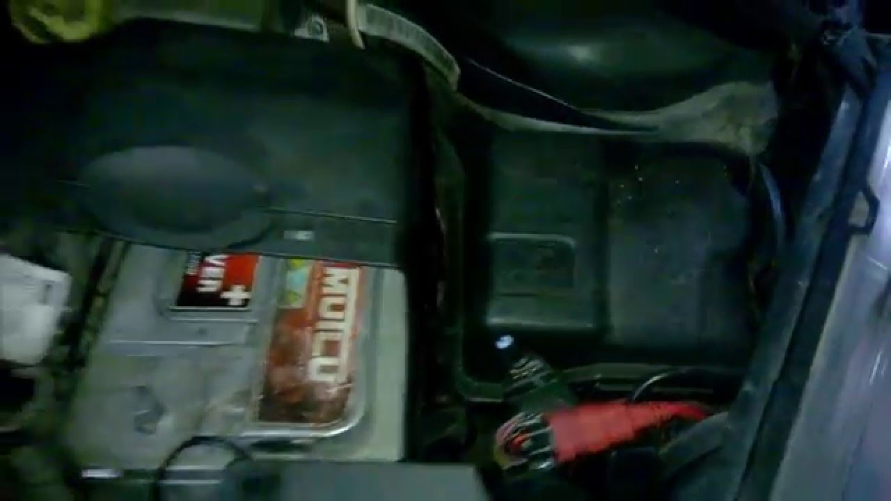 fuse box in peugeot 207 [ 1280 x 720 Pixel ]