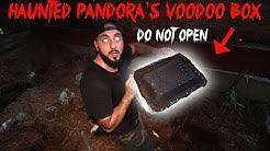 I ACCIDENTALLY OPENED PANDORA'S VOODOO BOX *BIG MISTAKE* DEEP DARK WEB MYSTERY BOX   MOE SARGI