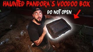 I ACCIDENTALLY OPENED PANDORA'S VOODOO BOX *BIG MISTAKE* DEEP DARK WEB MYSTERY BOX | MOE SARGI