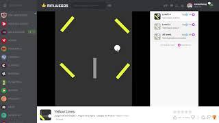 Jugando Yellow Lines