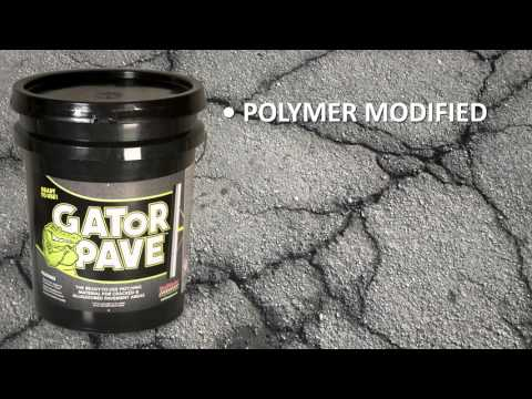 GatorPaveGatorPave asphalt patching material | Crack repair for asphalt pavement