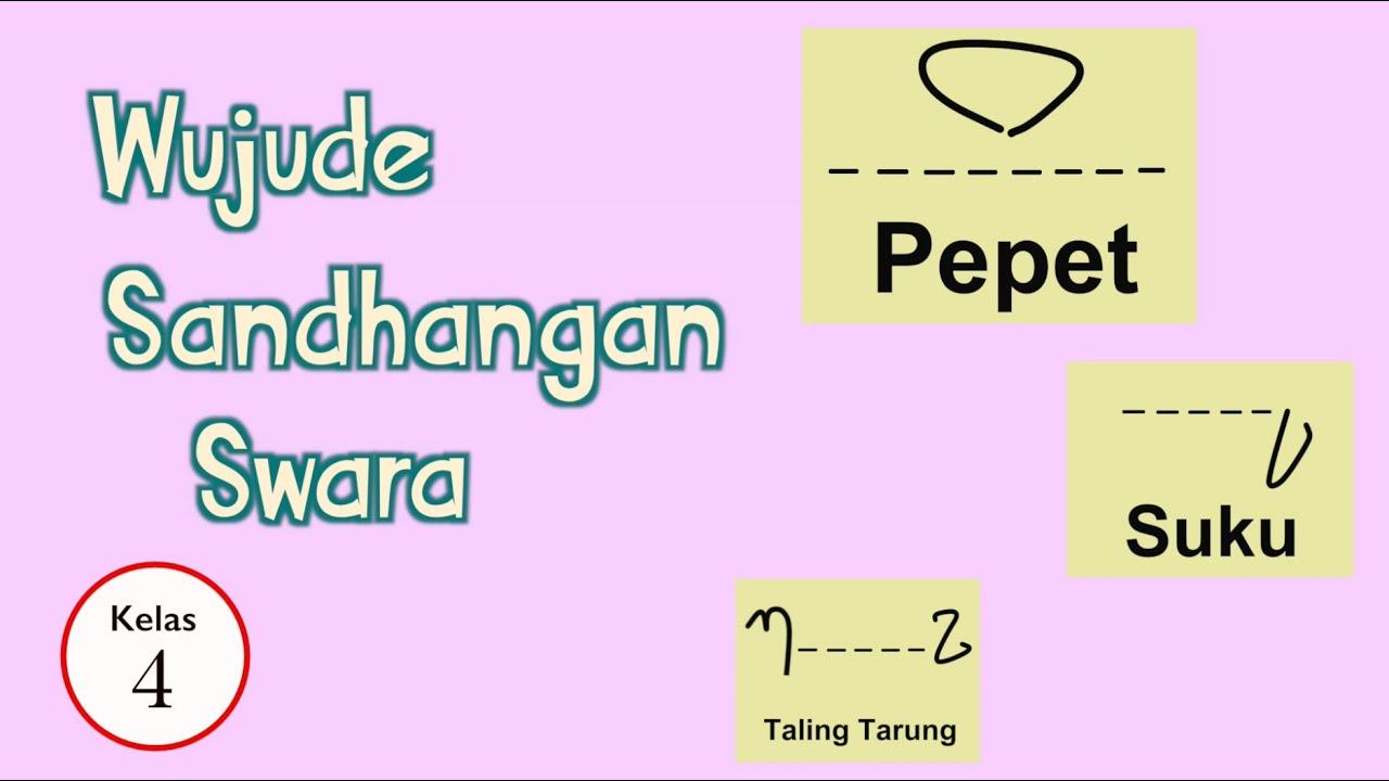 22/12/2019· sandhangan mandaswara sandhangan manda swara 1. Kelas 04 Bahasa Jawa Wujude Sandhangan Swara Video Pelajaran Sekolah K13 Youtube