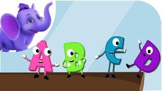 A,B,C, Tumble Down D - Nursery Rhyme with Karaoke