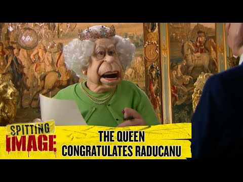 The Queen And Piers Morgan Congratulate Emma Raducanu | Spitting Image