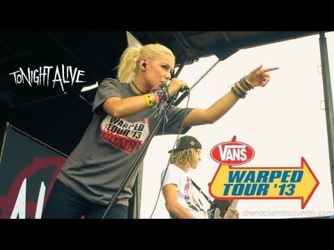 Tonight alive - Listening Live Vans Warped Tour 2013 Houston Texas