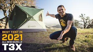 The BEST TENT iฑ 2021 - all NEW Gazelle T3X Hub Tent!
