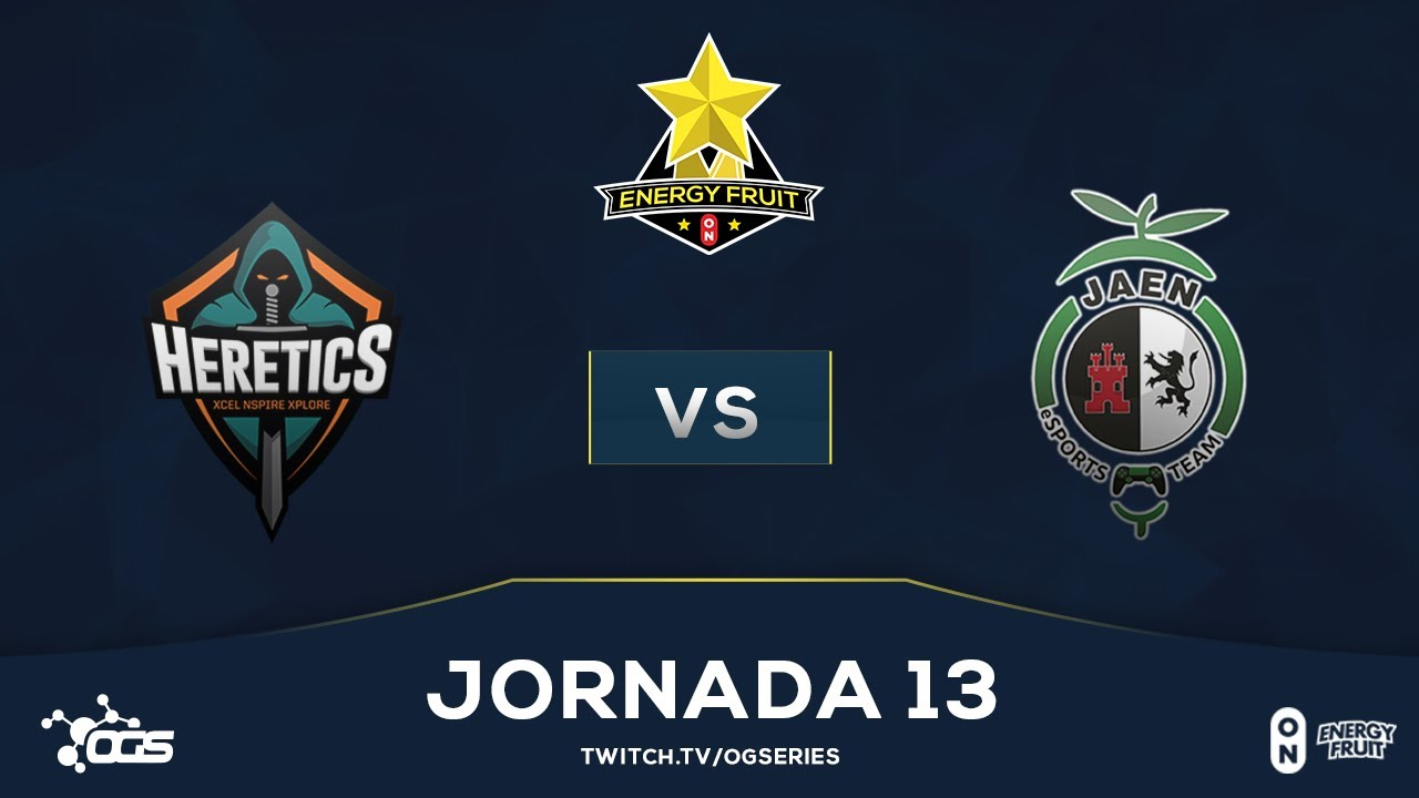 [J13] Energy Fruit - Team Heretics vs Jaén Paraíso Interior