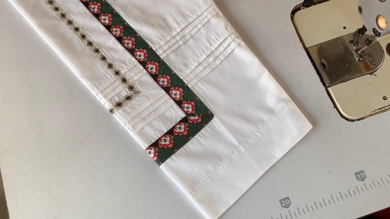 2021 Trouser poncha design | The Latest Design