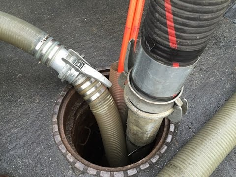 A Day in the Life of Sewer Cleaning Crews