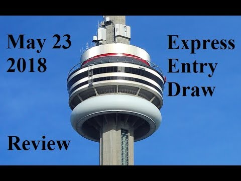 May 23 2018 Express Entry Draw Review Immigration to Canada Visa