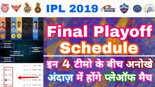 IPL 2019 - Final Playoffs Details With Top 4 Teams On Points Table Analysis   My Cricket Production