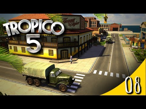 Let's Play - Tropico 5 - Learning the game - 08 |