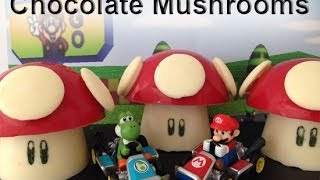Super Mario Mushrooms CHOCOLATE  How To Cook That Ann Reardon