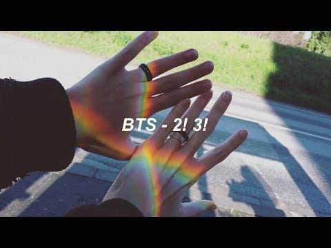 BTS (방탄소년단) '둘! 셋! (2! 3!)' Easy Lyrics