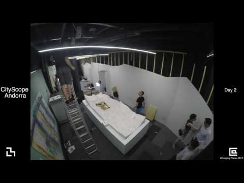 Andorra CityScope Deployment - June 2017 - MIT Media Lab - Changing Places