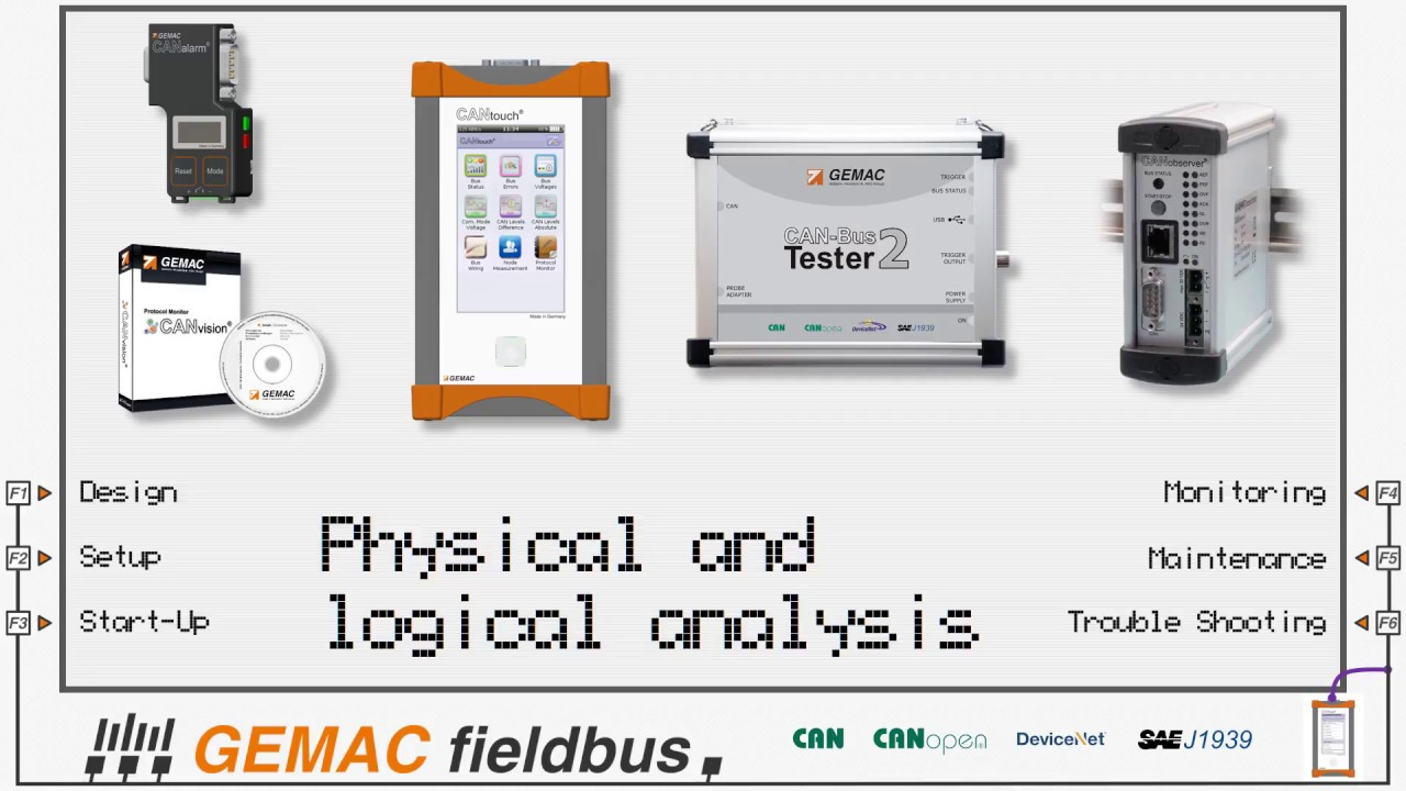 General information about our fieldbus diagnosis tools