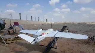 New Model GLTwins Mapping Fixed Wing Drone Take off
