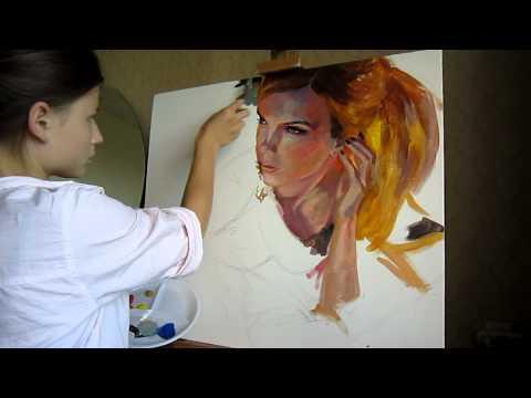 Портрет по фото. (05.09.2012)