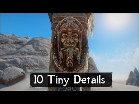 Skyrim: Yet Another 10 Tiny Details That You May Still Have Missed in The Elder Scrolls 5 (Part 50)