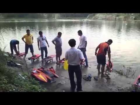 Đua thuyền mô hình - Hồ Bửu Long - Biên Hòa - Đồng Nai