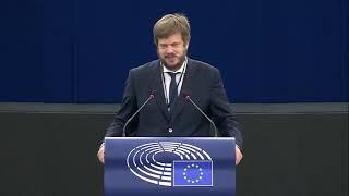 Intervento durante la Plenaria di Strasburgo di Pierfrancesco Majorino, europarlamentare del Partito democratico, su Magnitsky Act, il nuovo sistema globale di sanzioni con cui l'Unione Europea può intervenire contro le violazioni dei diritti umani.