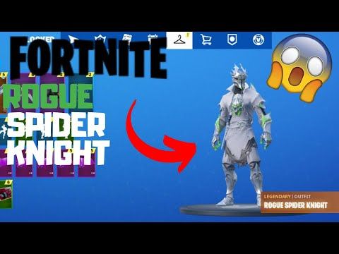 *NEW* FORTNITE ROGUE SPIDER KNIGHT CODE XBOX ONE S ALL DIGITAL UNBOXING AND TESTING EXCLUSIVE SKIN